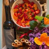 Ma cagette est prête pour un déjeuner chez les amis 🤍🤍🤍   #chambredhotes #bedandbreakfast #uzes #provence #gard #lefooding #southoffrance